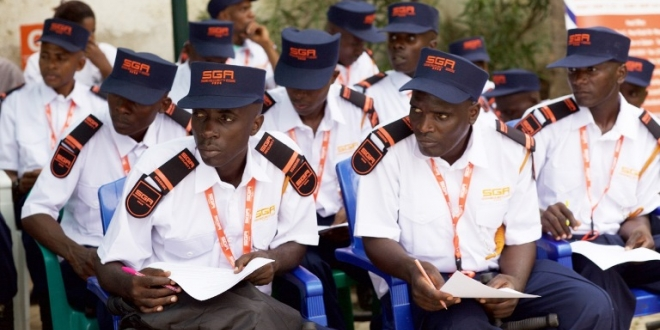 Security  company  scoops top  award in  mining  expo