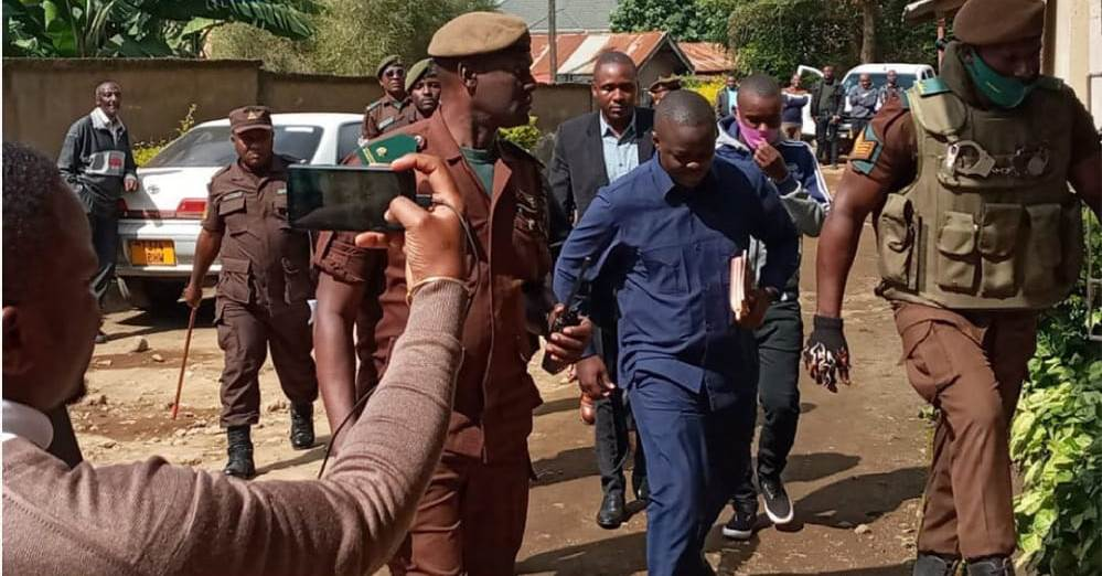 UPDATE: Sabaya, co-accused deny armed robbery charges