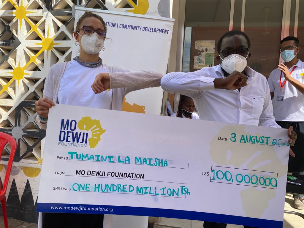 Mo Dewji Foundation donates 100m/- to support children with cancer