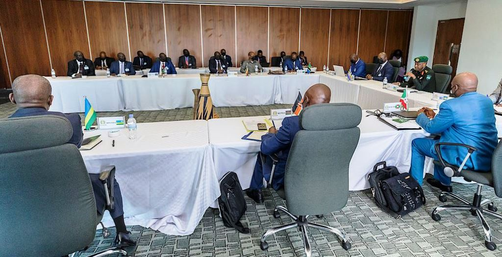 EAC miltary chiefs, directors of miltary intelligence meet in Kigali for regional security talks