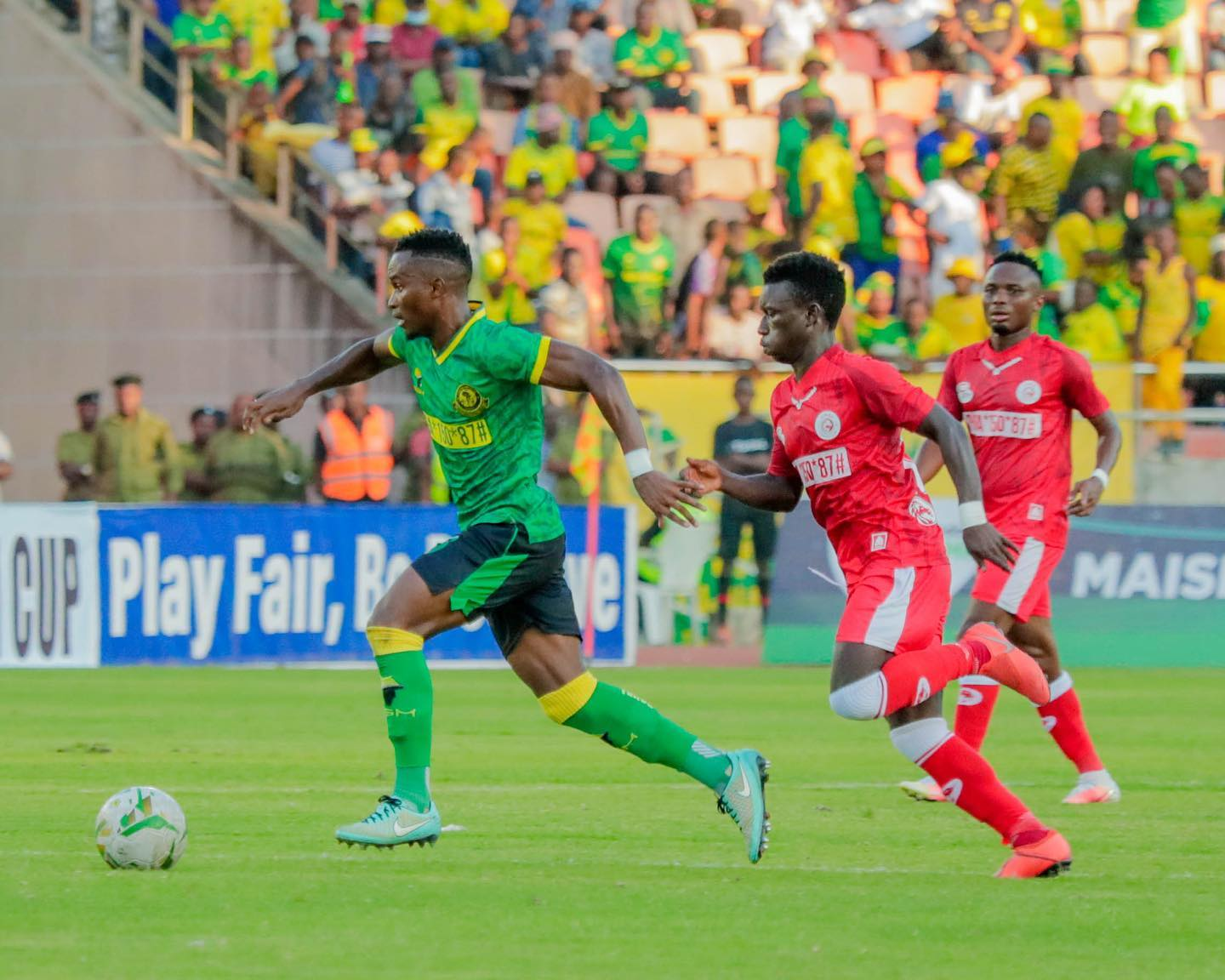 Young Africans new Community Shield winners after beating Simba 1-0