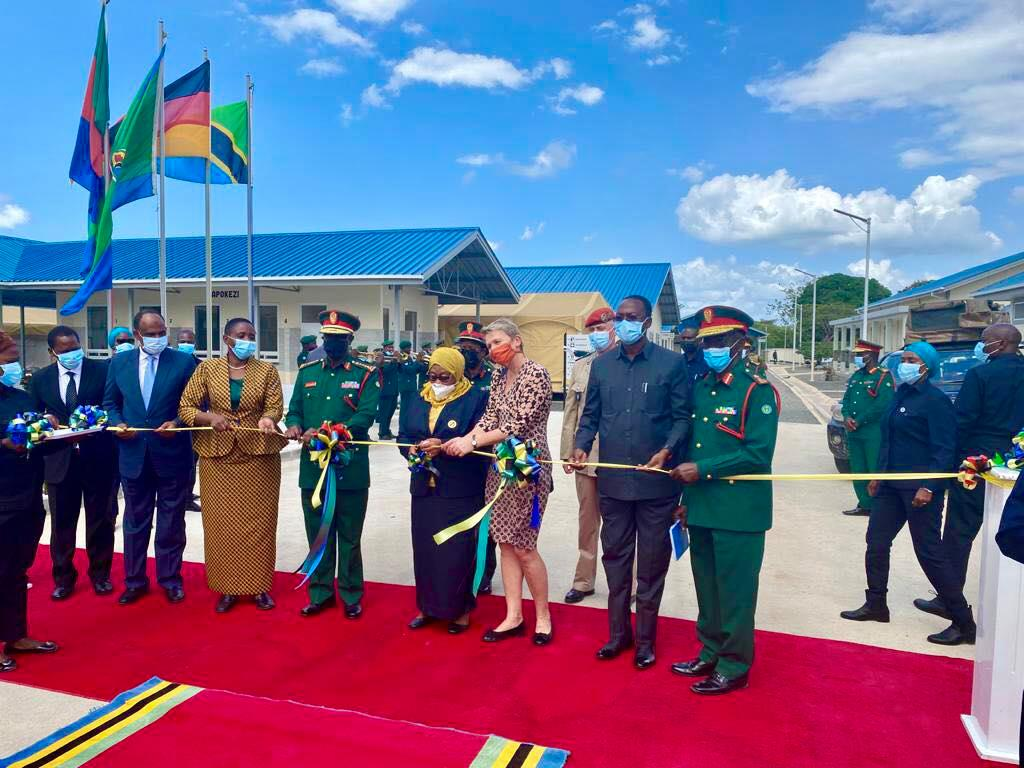 President Samia launches military's  10.5bn/- centre for infectious diseases