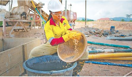 How young female engineers excel at Geita Gold Mine