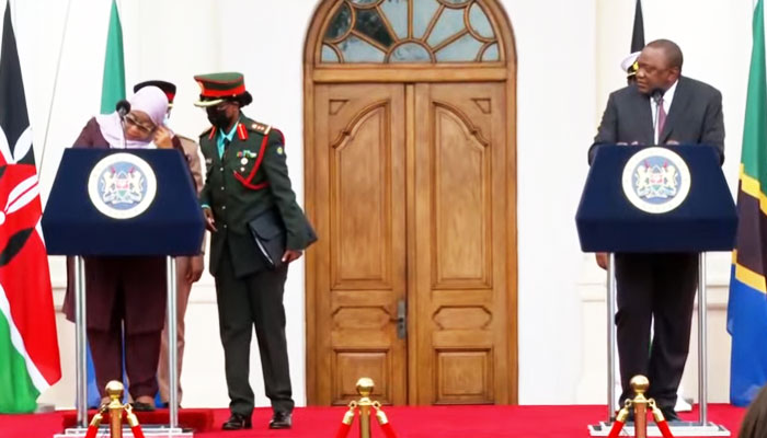 President Samia invites Uhuru at Tanzania's 60th birthday celebrations