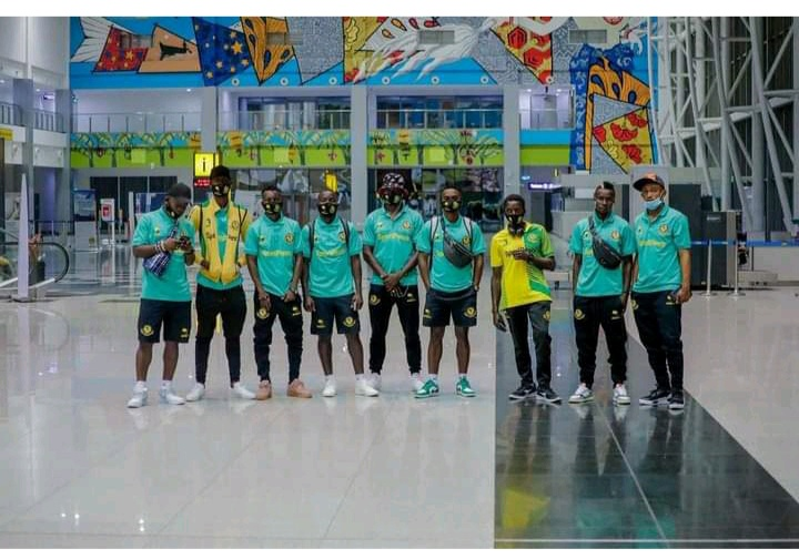 Young Africans land in Nigeria, ready to face Rivers FC