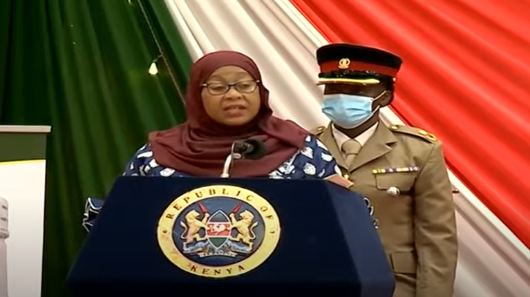 President Samia's advise to Tanzania and Kenya's traders