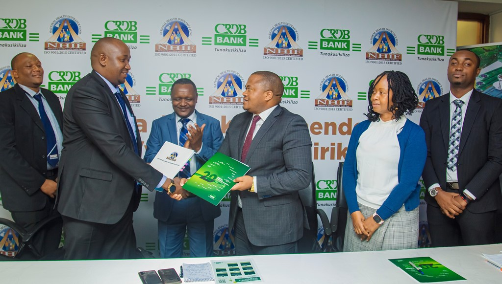 CRDB, NHIF team up to expand health  insurance cover for farmers in Tanzania
